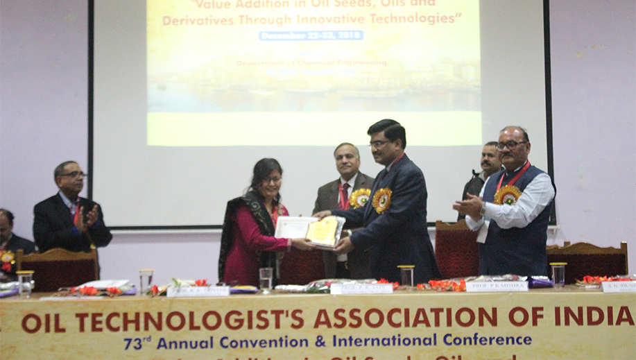 OIL TECHNOLOGISTS' ASSOCIATION OF INDIA